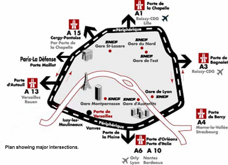Plan Paris Porte de Versailles Porte de Versailles Paris